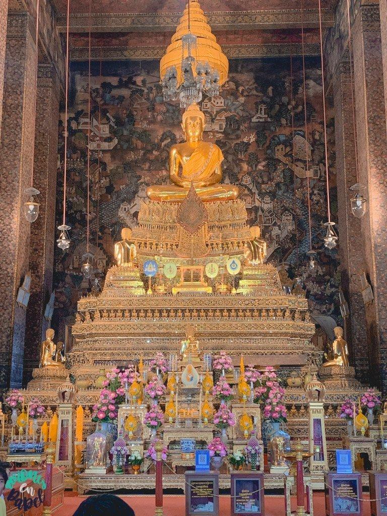 Phra Ubosot del Wat Pho. Qué ver en Bangkok en 3 días