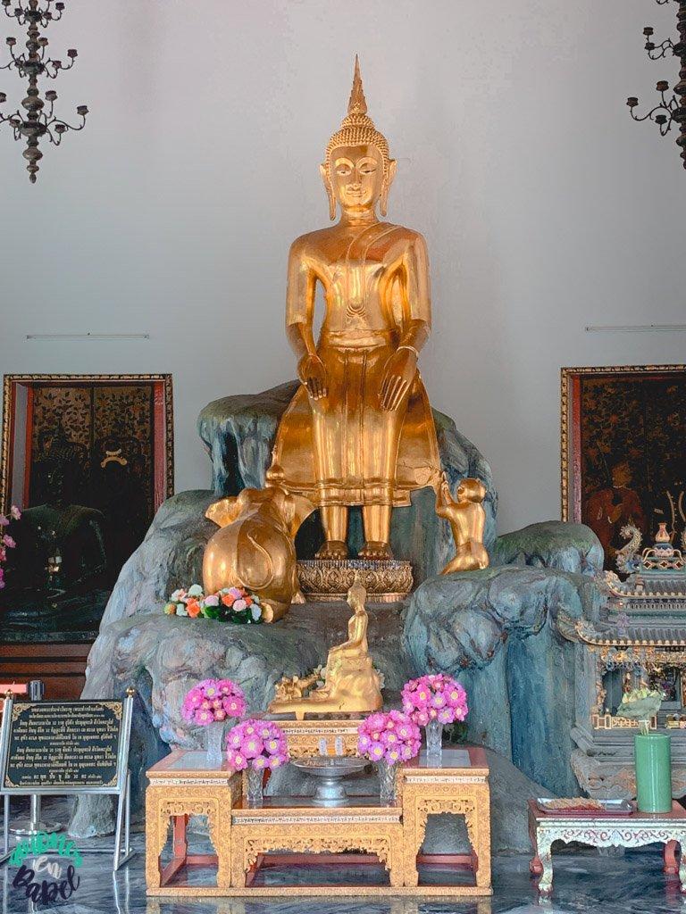Phra Vihara norte del Wat Pho. Qué ver en Bangkok en 3 días