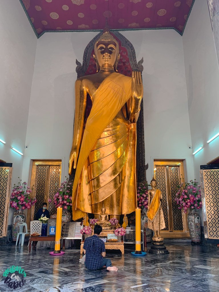 Phra Vihara este del Wat Pho. Qué ver en Bangkok en 3 días