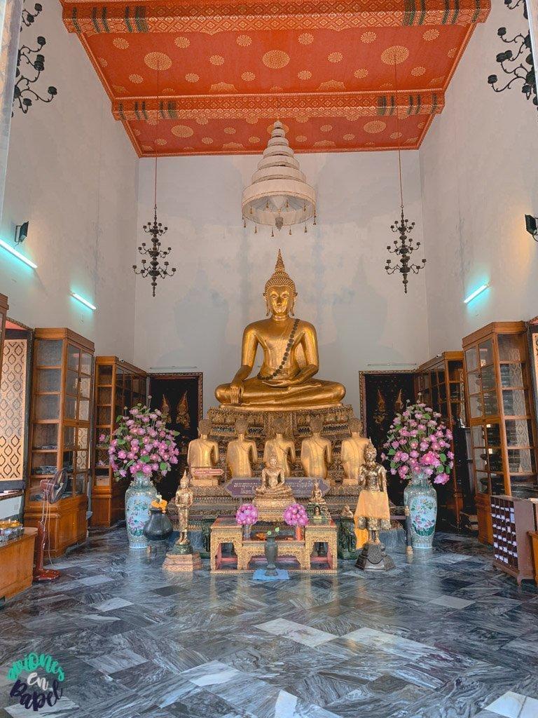 Phra Vihara sur del Wat Pho. Qué ver en Bangkok en 3 días