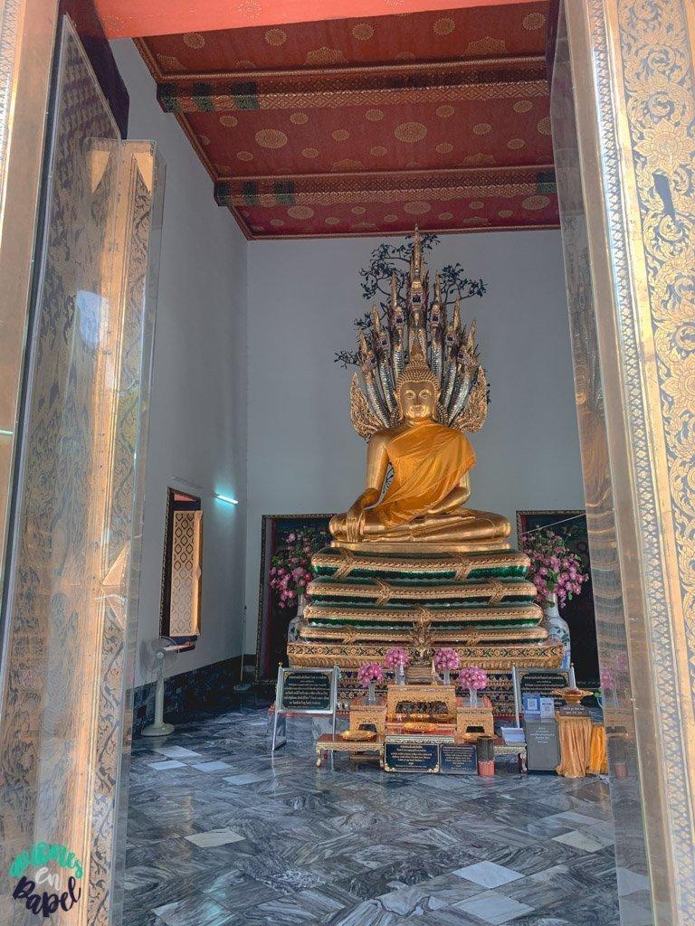 Phra Vihara oeste del Wat Pho. Qué ver en Bangkok en 3 días