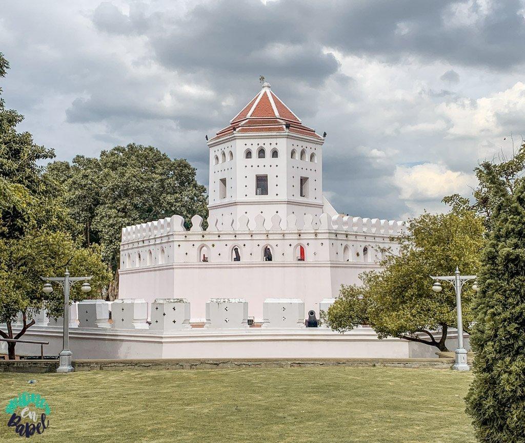 Phra Sumen Fort. Qué ver en Bangkok en 3 días