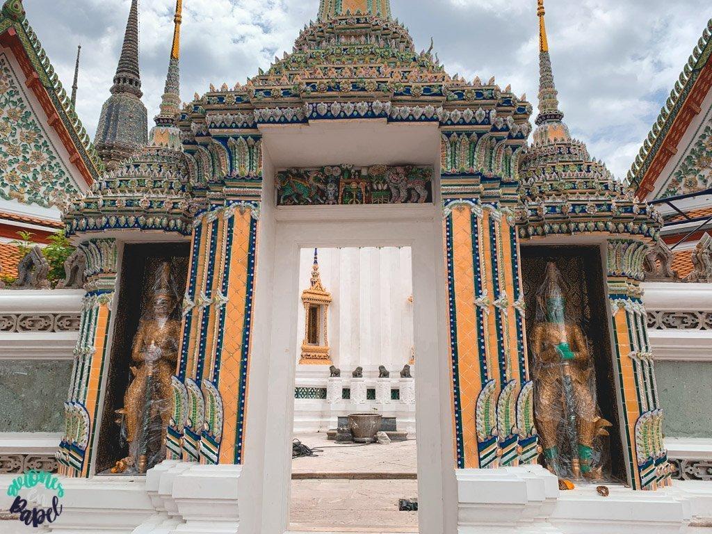 Gigantes Yak del Wat Pho. Qué ver en Bangkok en 3 días
