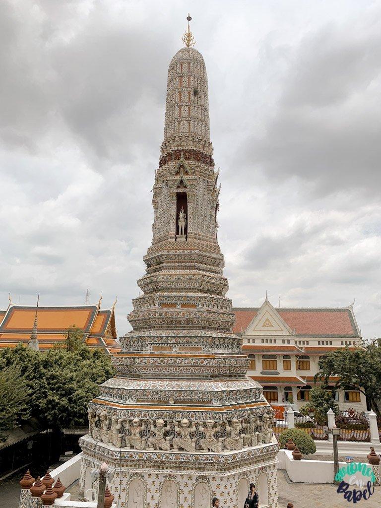 Indra y Erawan en el Wat Arun. Qué ver en Bangkok en 3 días