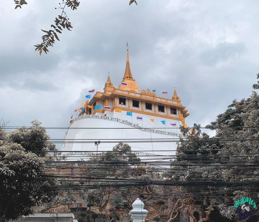 Wat Saket y el Monte Dorado. Qué ver en Bangkok en 3 días