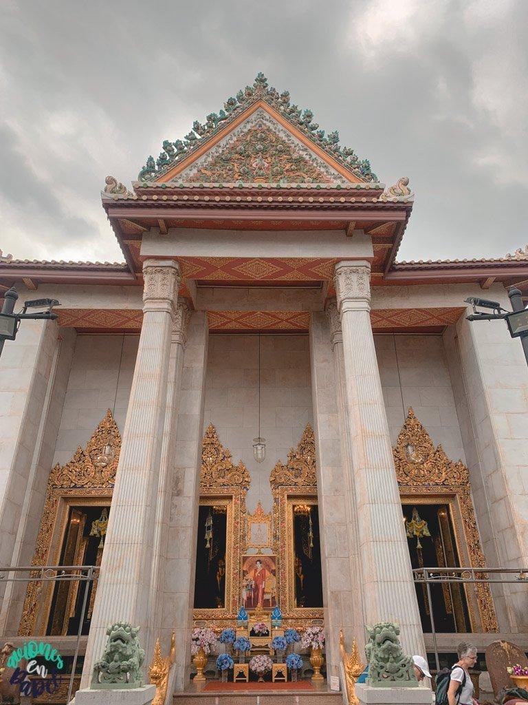 Ubosot del Wat Bowonniwet. Qué ver en Bangkok en 3 días