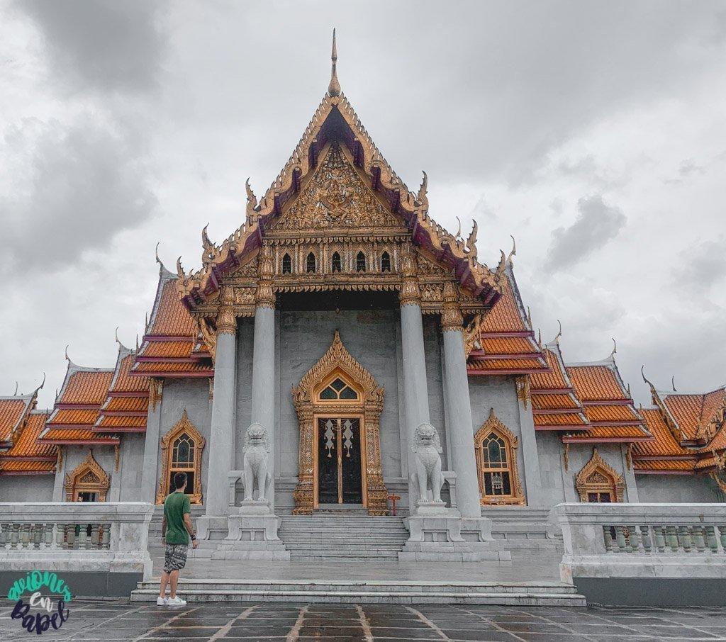 Wat Benchamabophit. Qué ver en Bangkok en 3 días