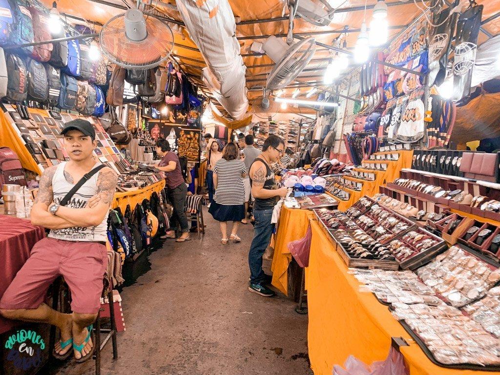 Mercado del Barrio Rojo de Patpong. Bangkok