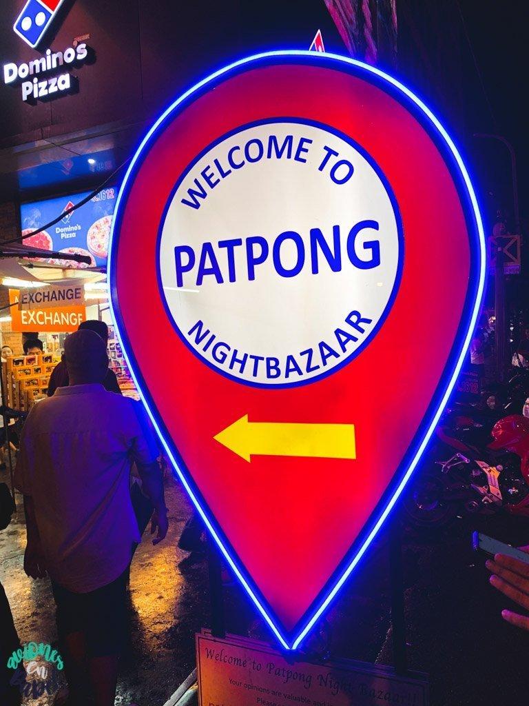 Patpong Night Market. Qué ver en Bangkok en 3 días
