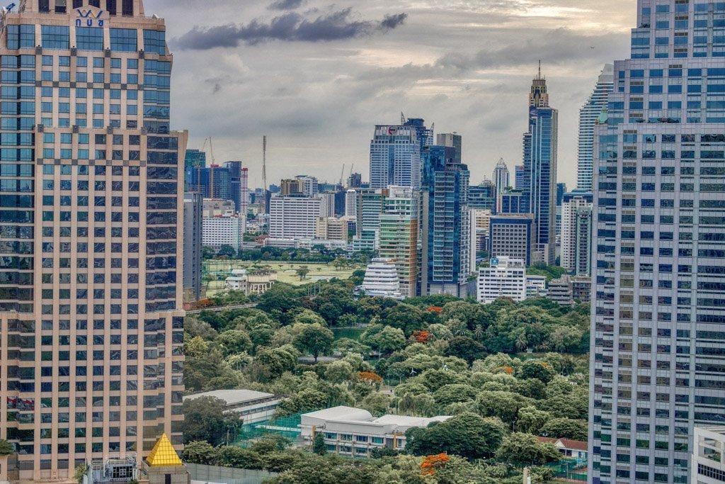 Parque Lumpini. Bangkok