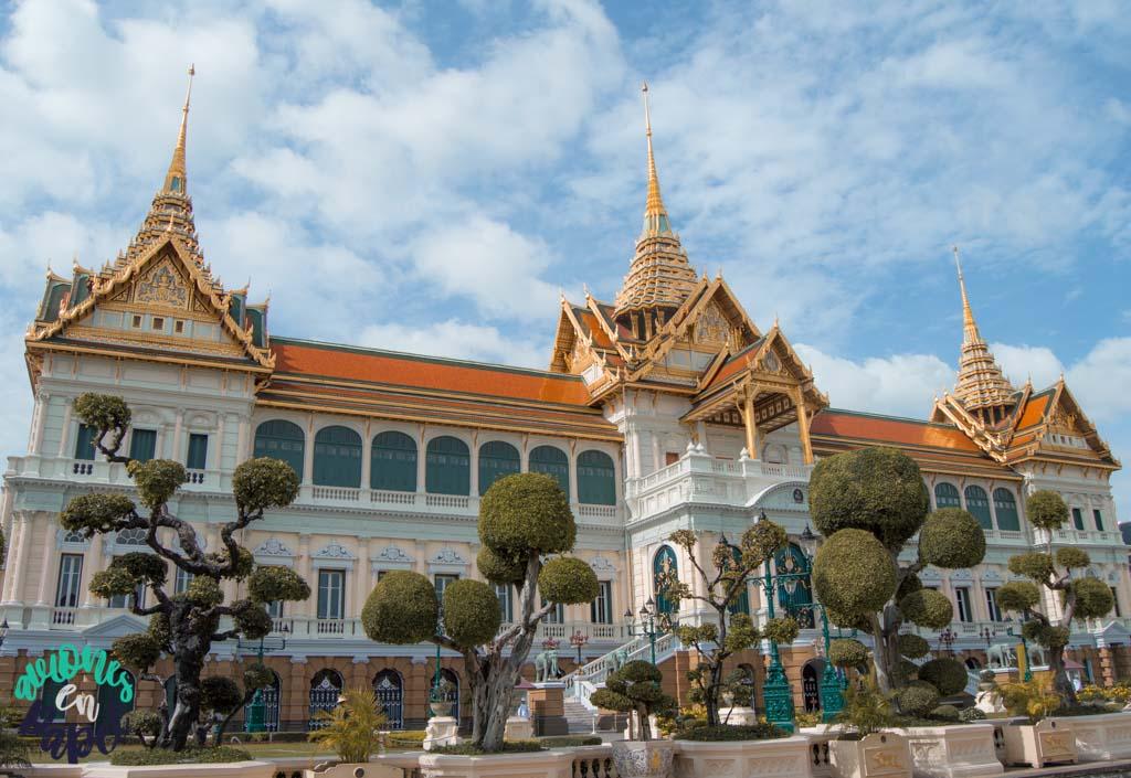 Chakri Maha Prasat del Grand Palace. Qué ver en Bangkok en 3 días