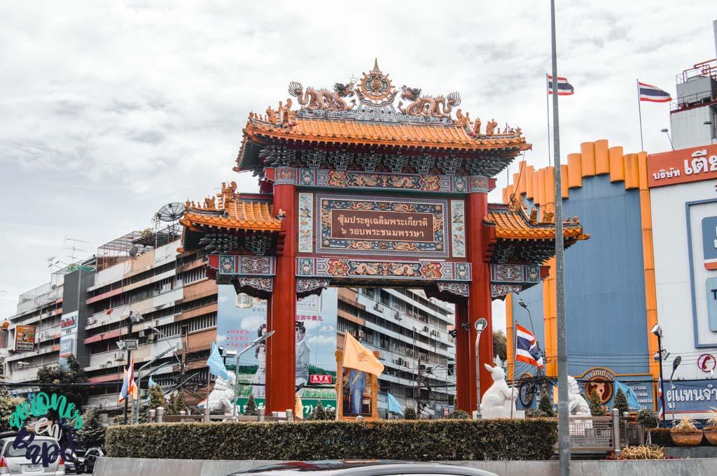 Chinatown Gate. Bangkok