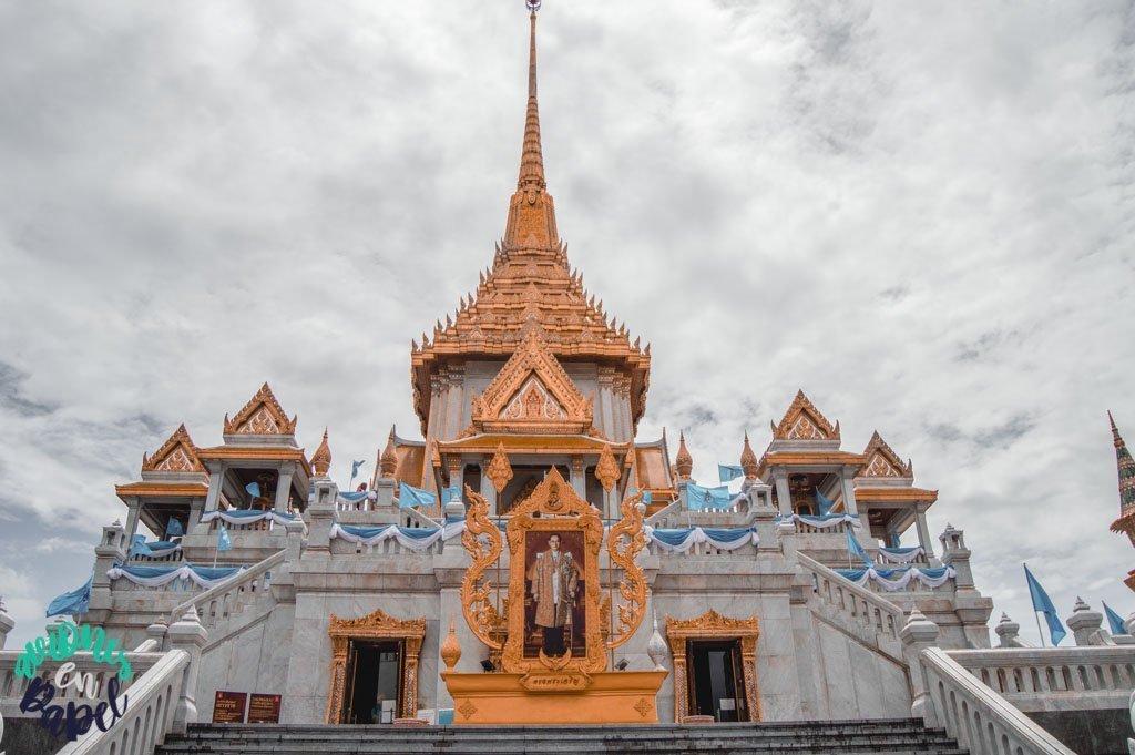 Wat Traimit en Chiantown. Qué ver en Bangkok en 3 días