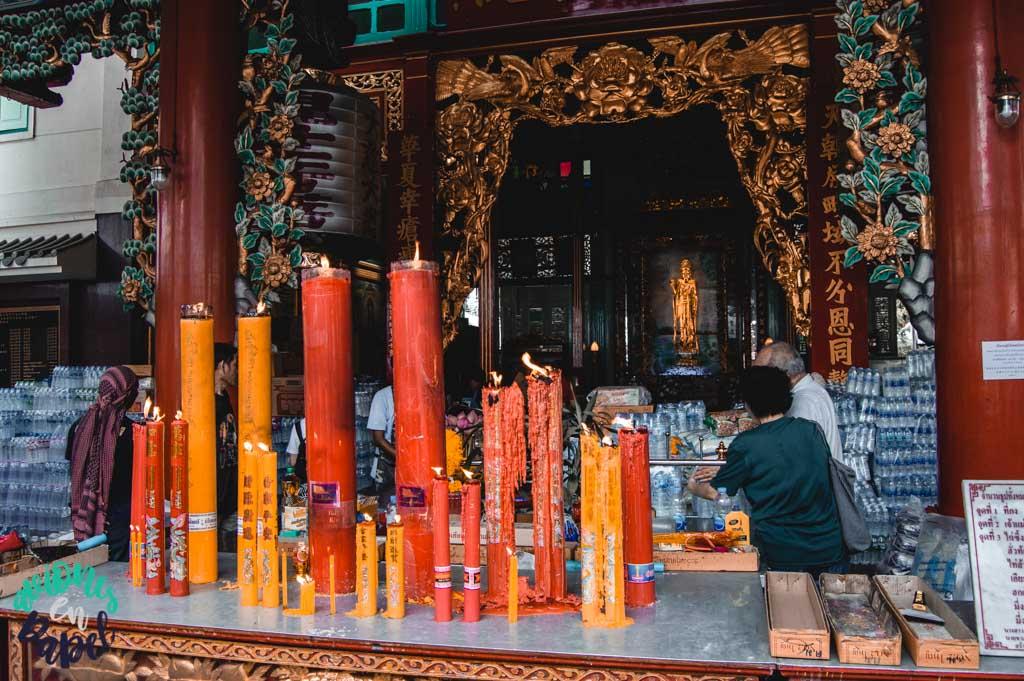 Imagen de Guan Yin. Bangkok