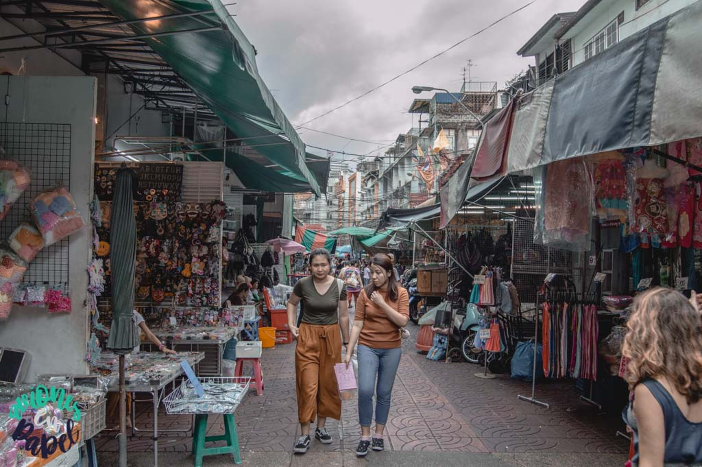Mercado de Sampeng Lane en Chinatown. Qué ver en Bangkok en 3 días