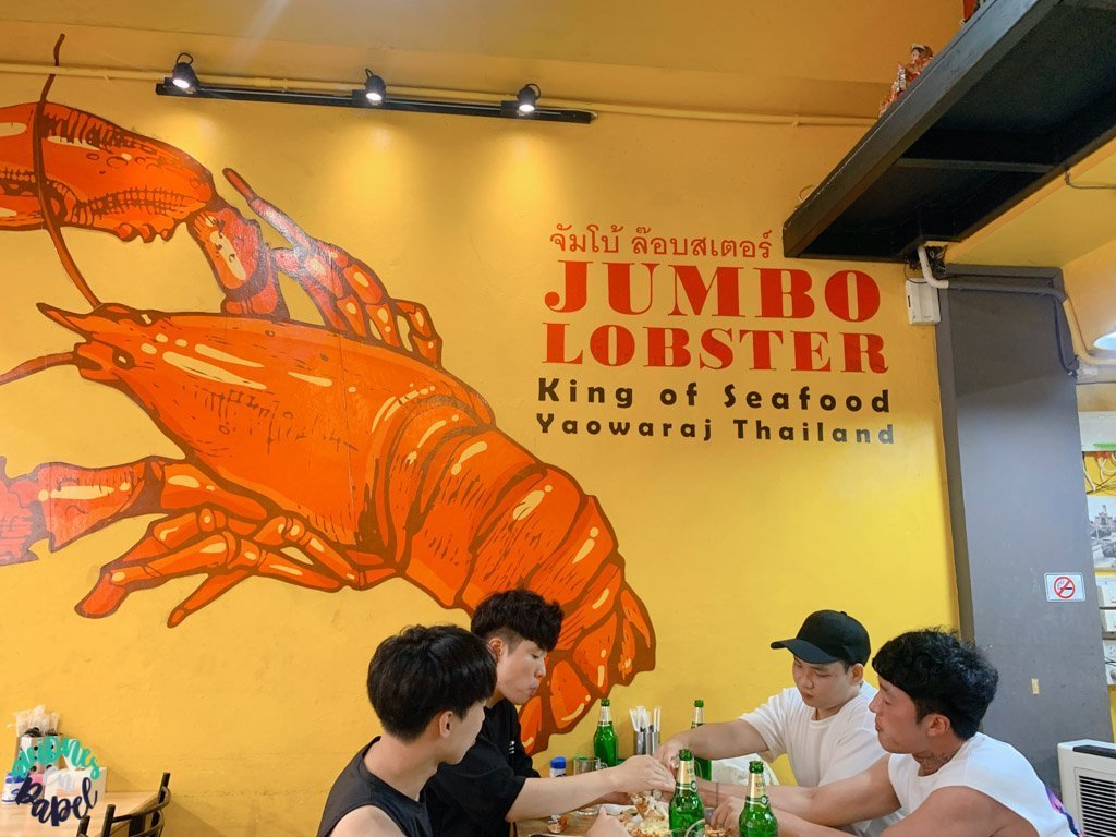 Local Jumbo Lobster. Dónde comer y cenar en Bangkok