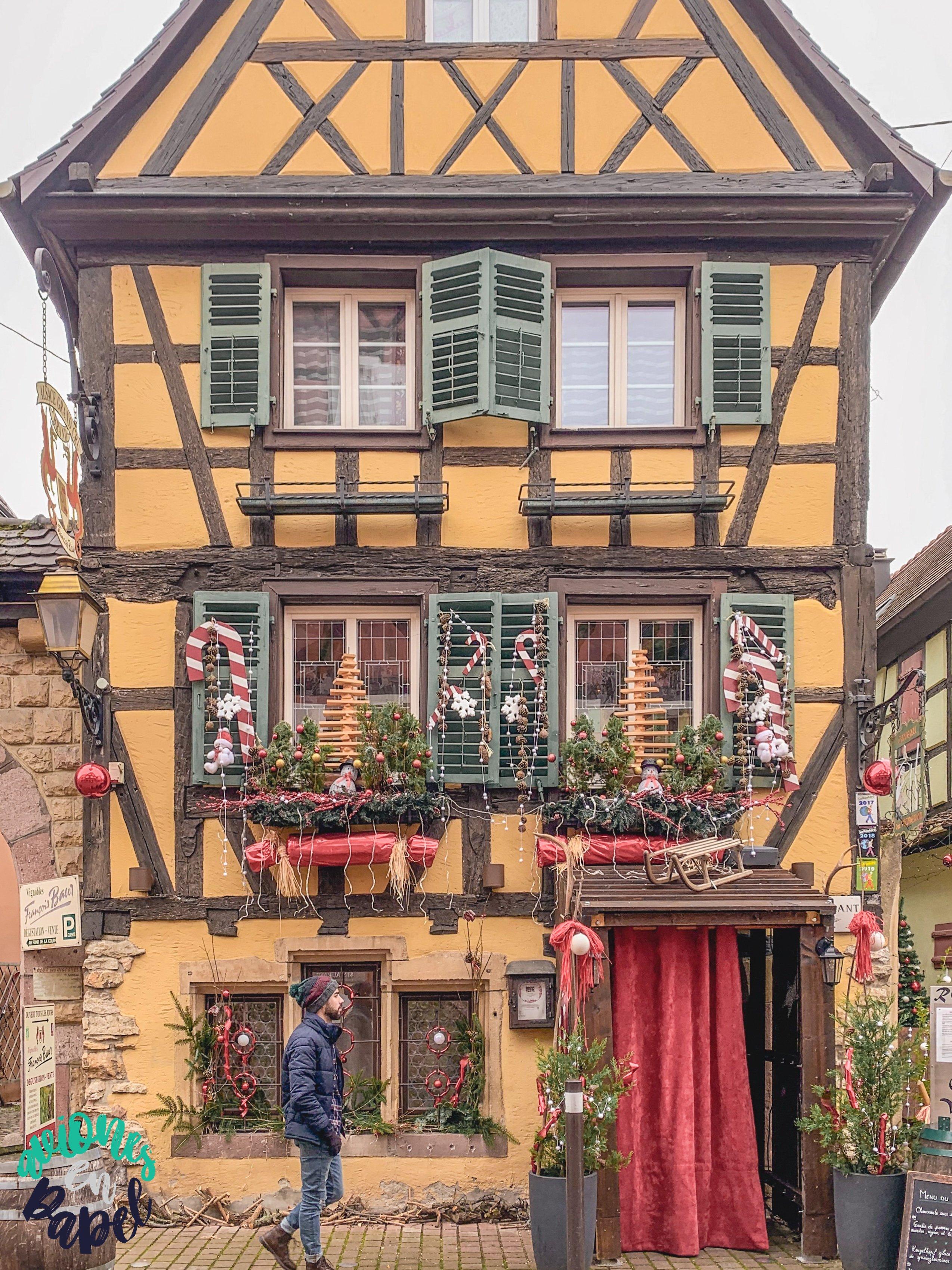 Presupuesto de viaje a Alsacia en Navidad