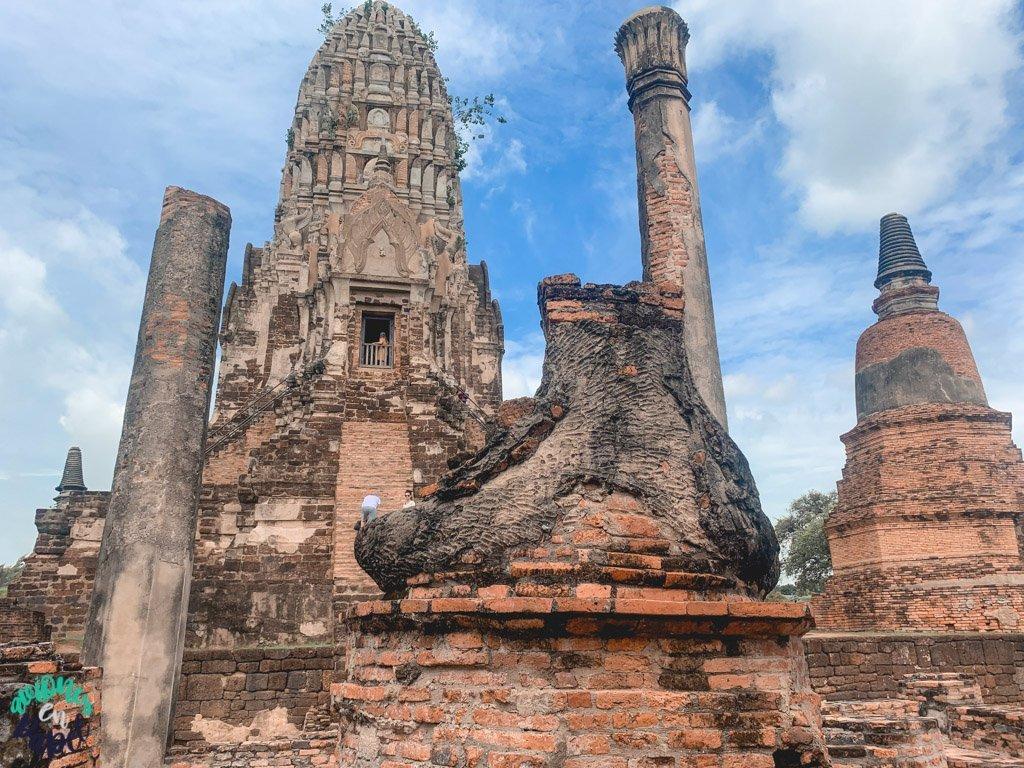 Buda decapitado del Wat Ratchaburana. Ayutthaya