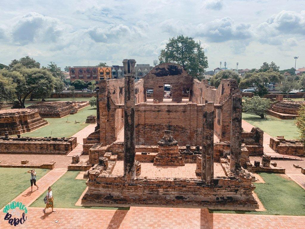 Ubosot del Wat Ratchaburana. Ayutthaya