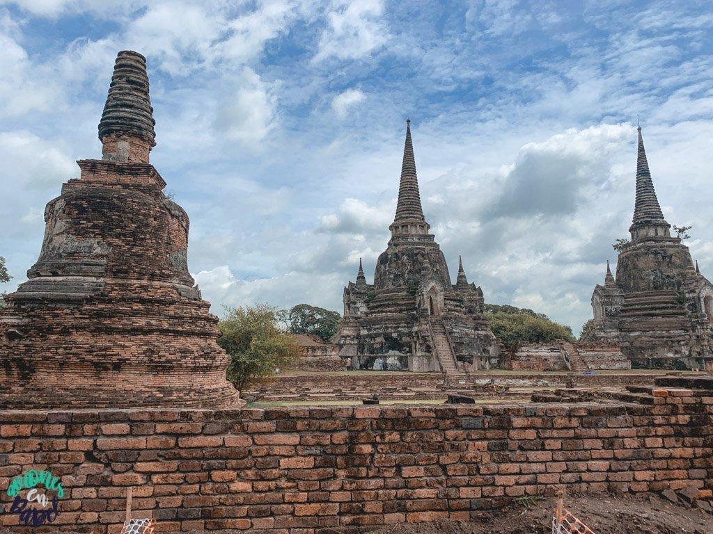 Wat Phra Si Sanphet. Qué ver y hacer en Ayutthaya en 1 día