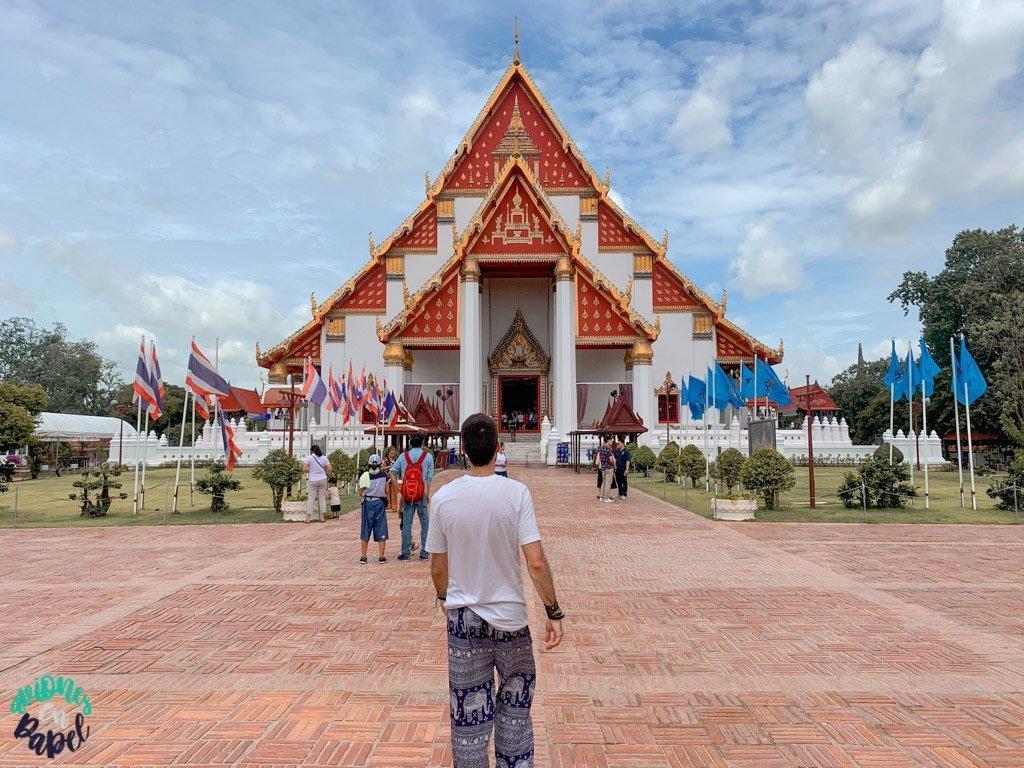 Phra Mongkon Bophit. Qué ver y hacer en Ayutthaya en 1 día