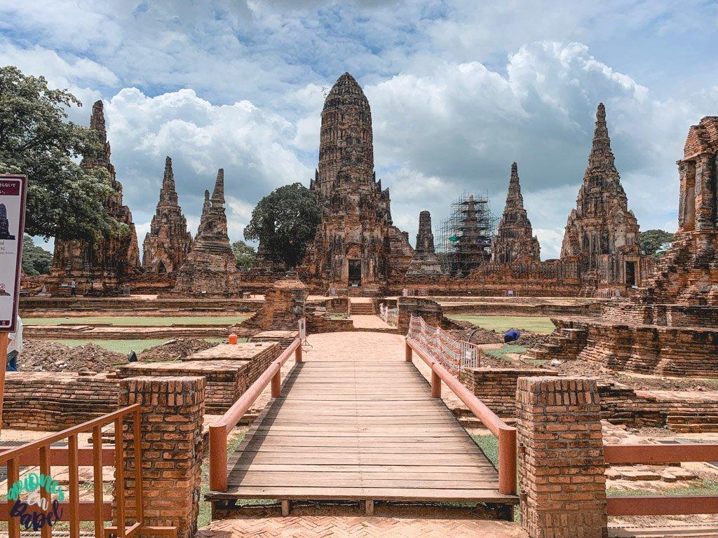 Wat Chaiwatthanaram. Qué ver y hacer en Ayutthaya en 1 día
