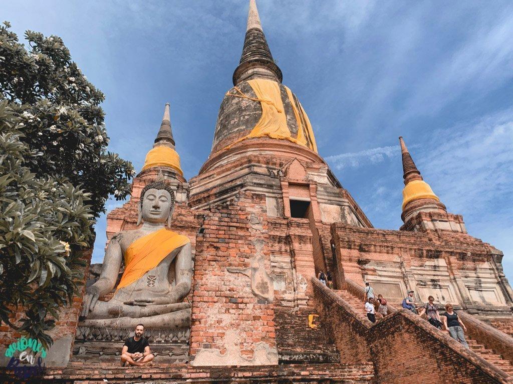 Wat Yai Chai Mongkhol. Qué ver y hacer en Ayutthaya en 1 día