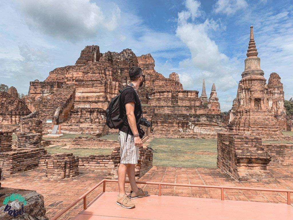 Ruinas del Wat Mahatat. Ayutthaya