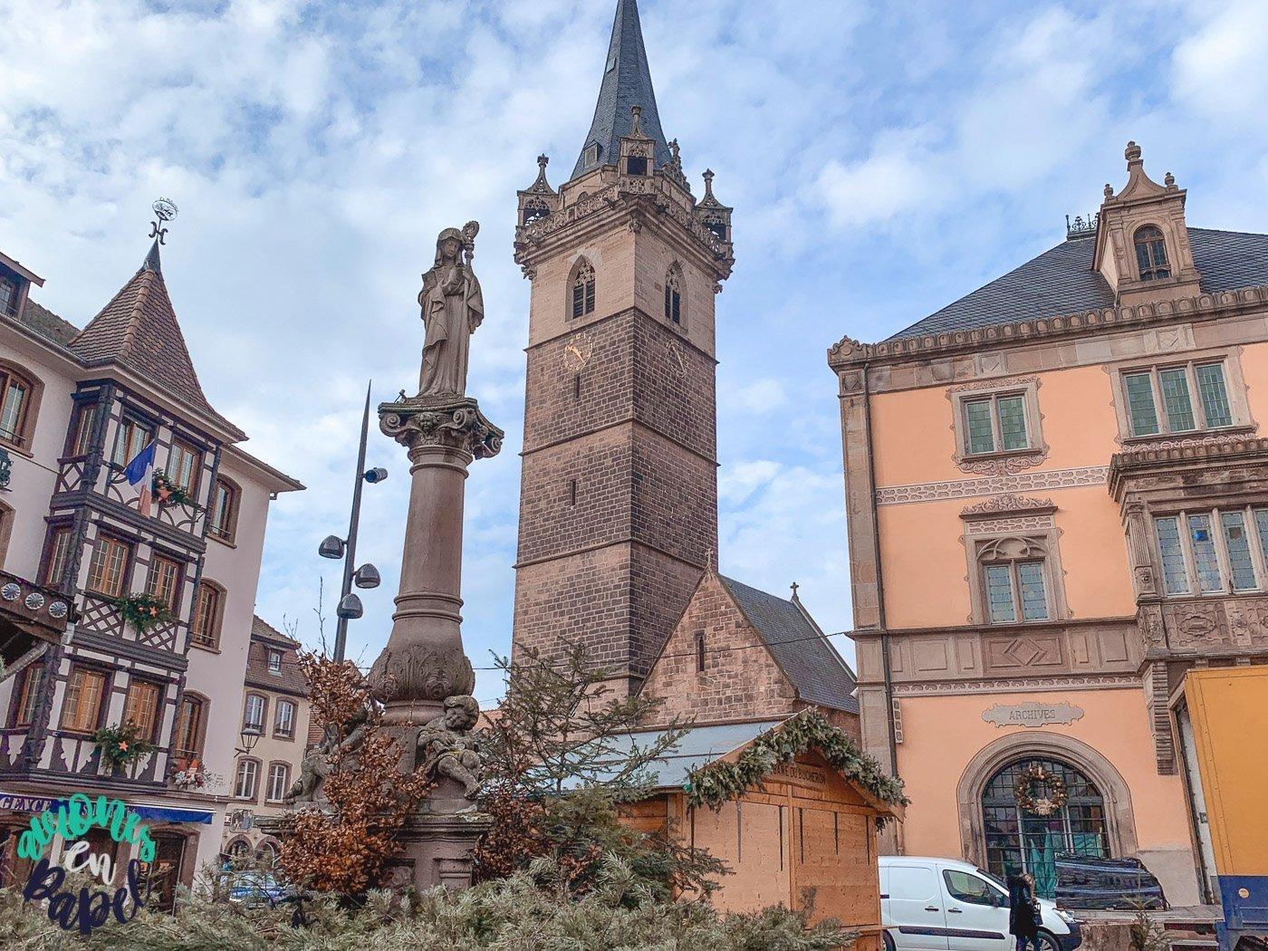 Obernai. Ruta y qué ver en Alsacia en 4 días