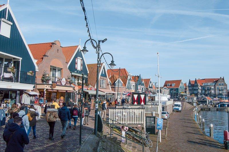 Paseo marítimo de Volendam: Qué ver y cómo llegar desde Ámsterdam