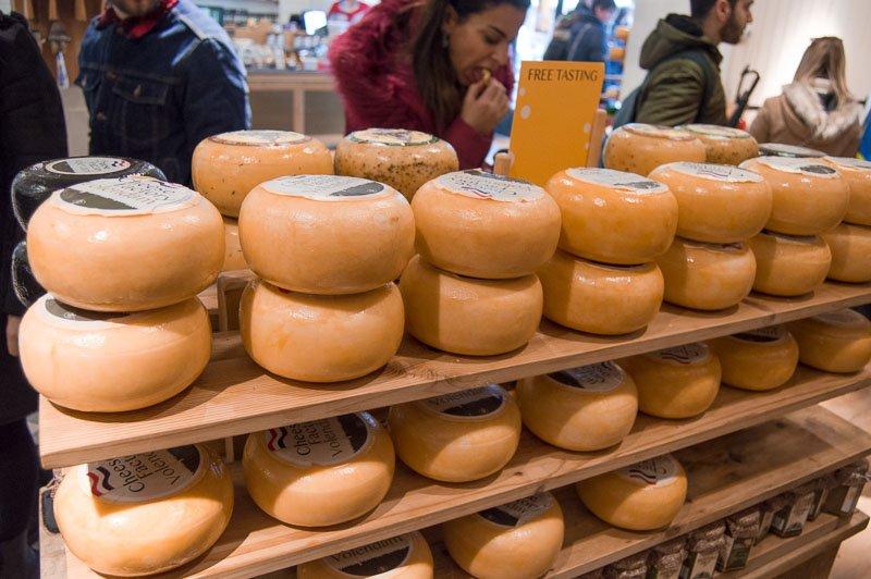 Cheese factory de Volendam