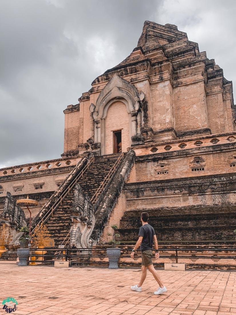 Wat Chedi Luang. Qué ver y hacer en Chiang Mai en 3 días