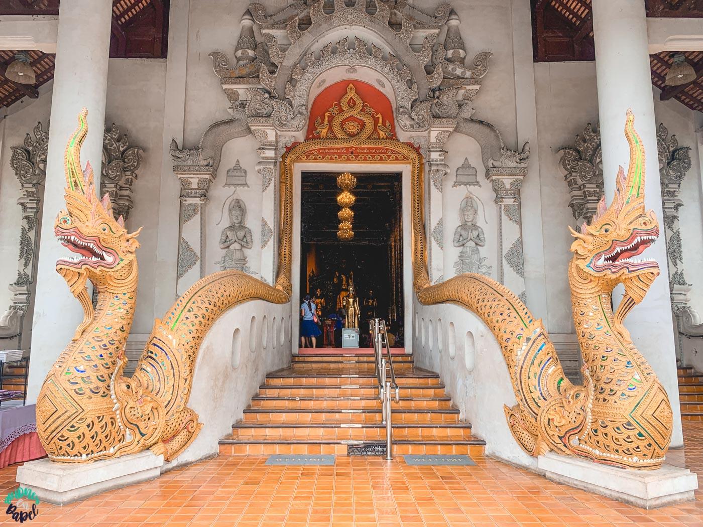 Vihan principal del Wat Chedi Luang