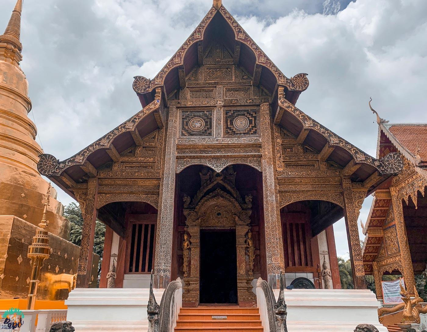 Ubosot de Wat Phra Singh - Chiang Mai