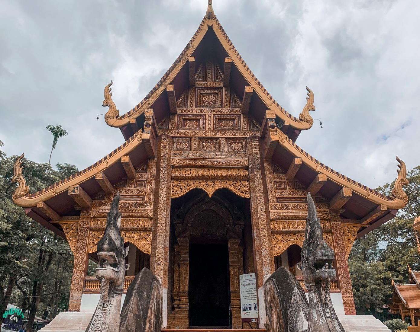 Wihan Lai Kham - Wat Phra Singh. Chiang Mai