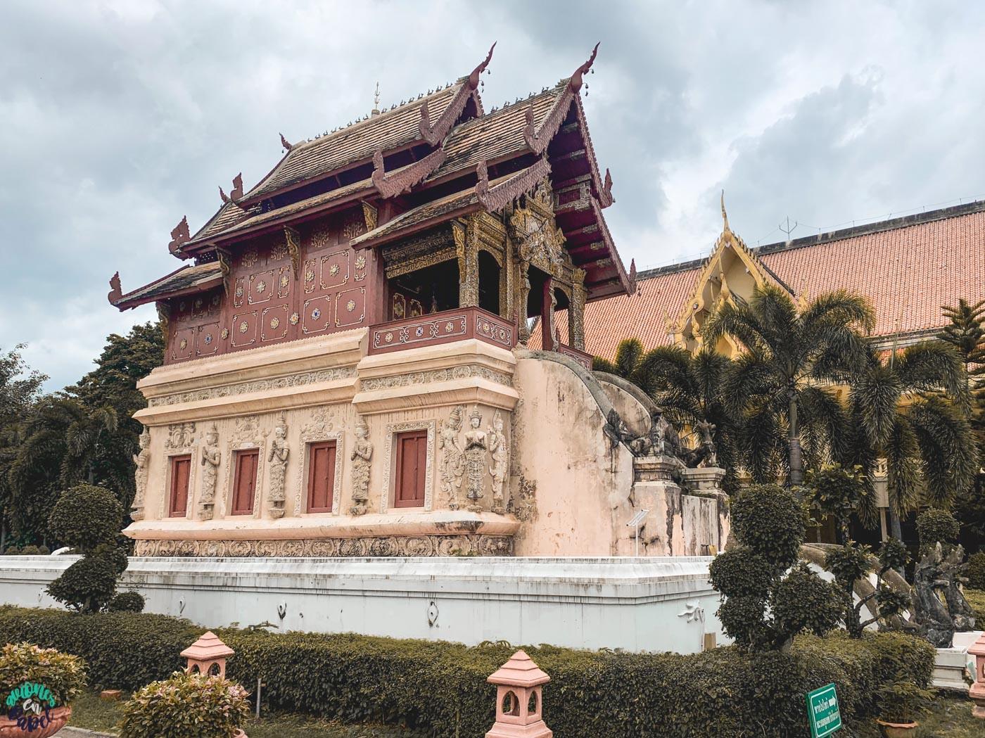 Biblioteca Ho Trai. Qué ver y hacer en Chiang Mai en 3 días