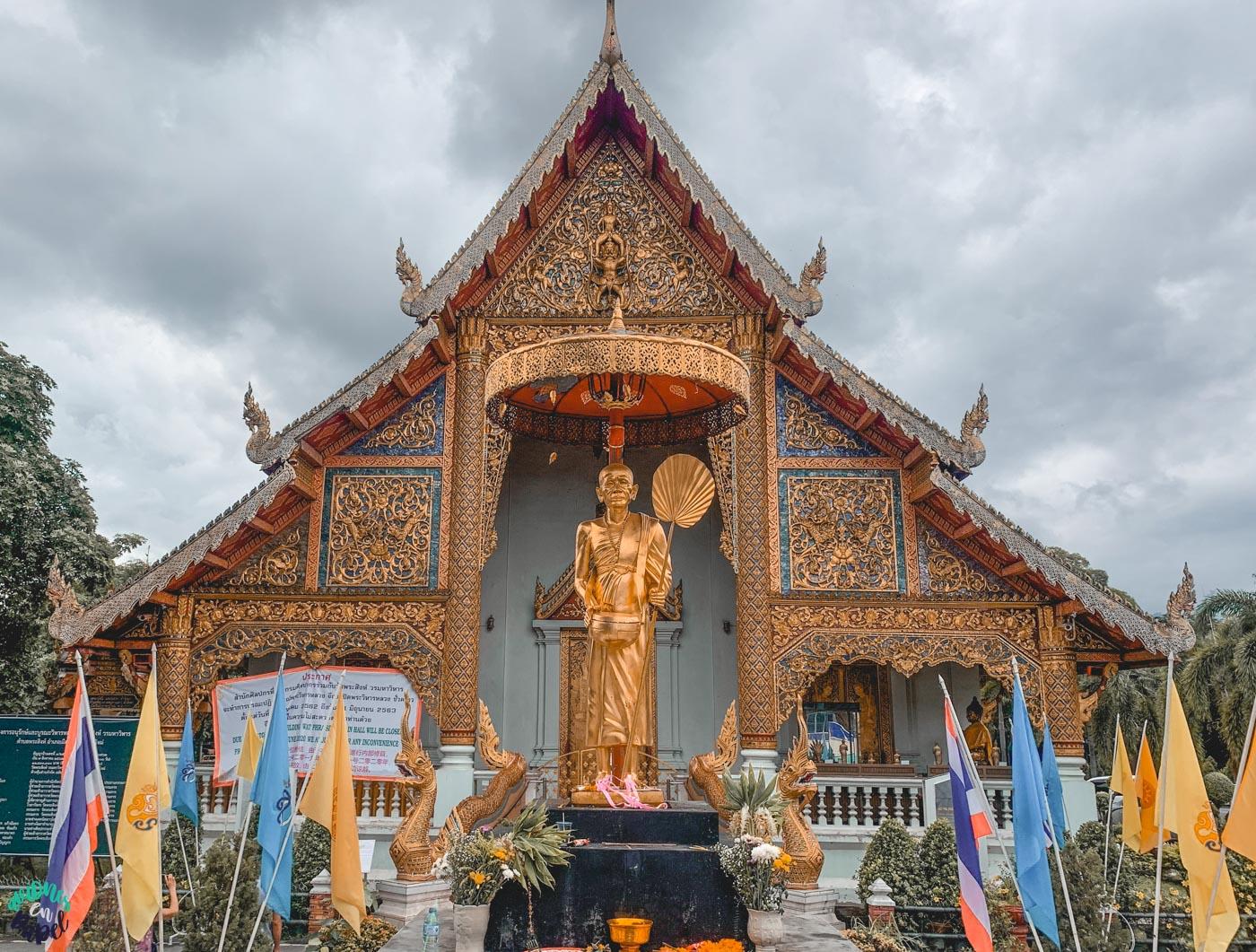 Qué ver y hacer en Chiang Mai en 3 días: Wat Phra Singh