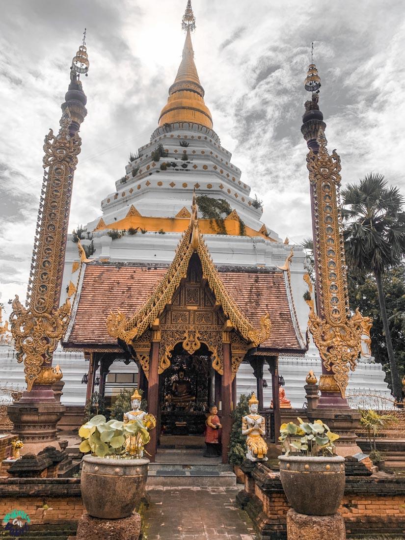 Ubosot del Wat Chiang Yuan - Chiang Mai