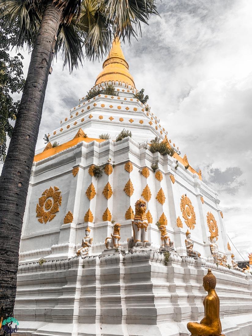 Chedi del Wat Chiang Yuan - Chiang Mai
