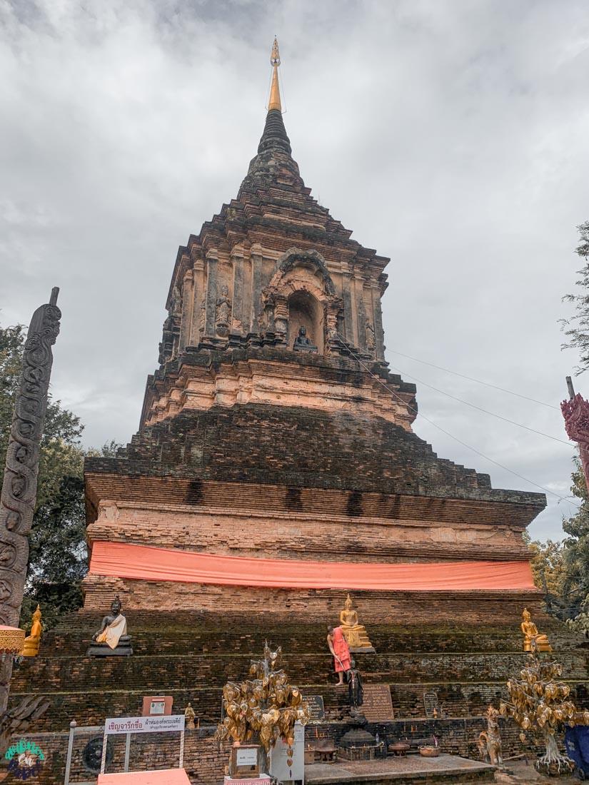 Chedi del Wat Lok Moli - Chiang Mai