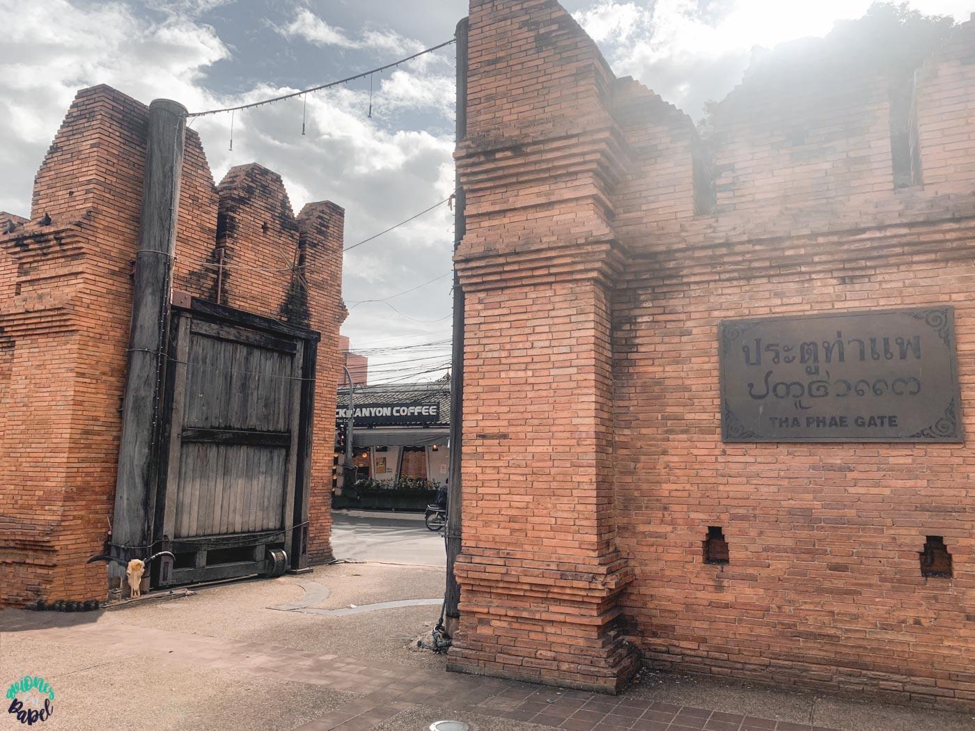 Tha Phae Gate - Qué ver y hacer en Chiang Mai en 3 días