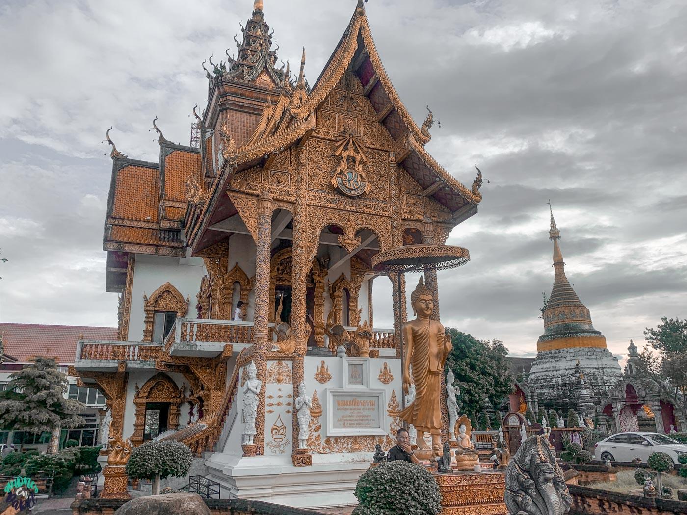 Qué ver y hacer en Chiang Mai en 3 días: Wat Bopparam