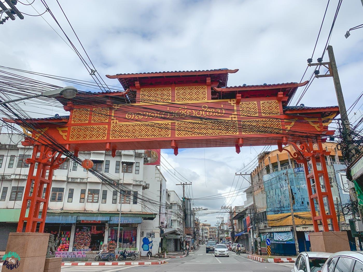 Chinatown Gate - Chiang Mai