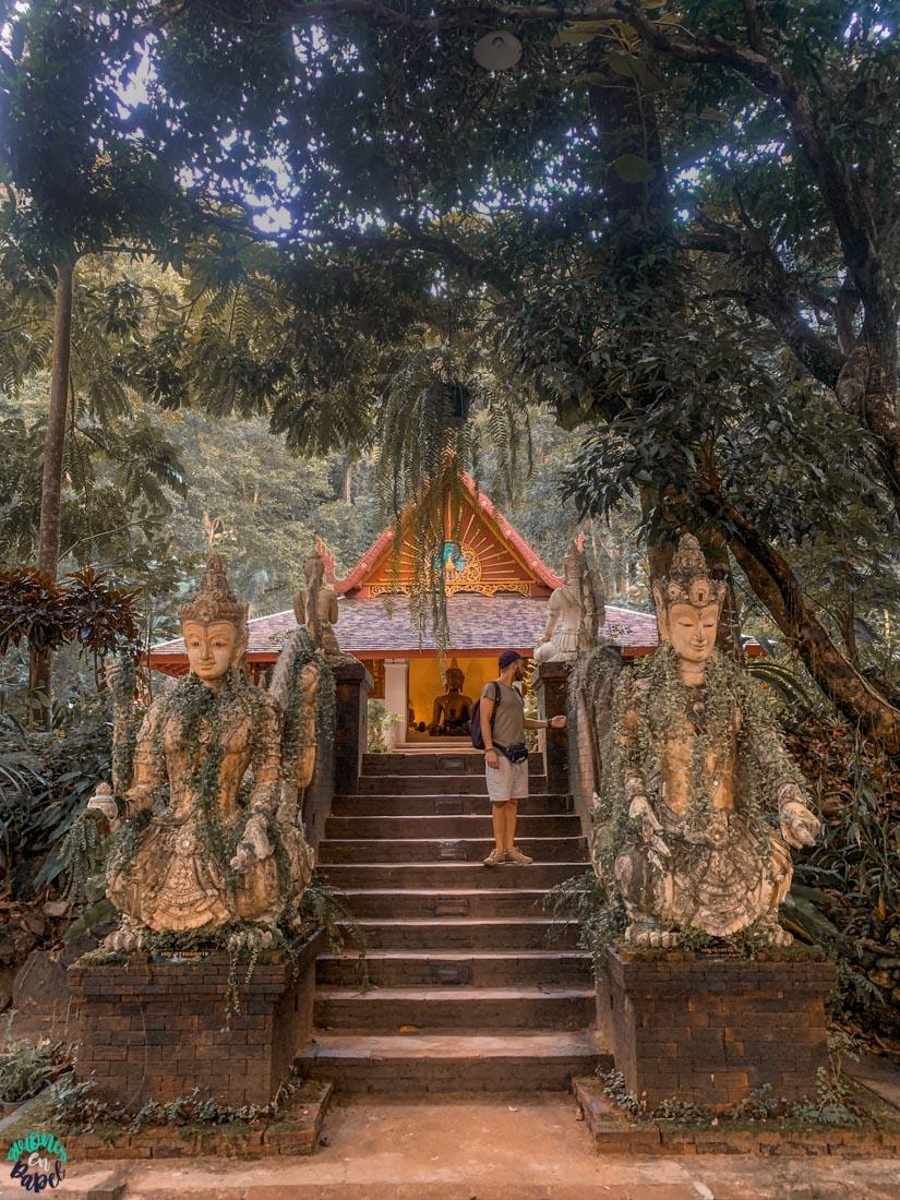 Ubosot del Wat Pha Lat. Chiang Mai