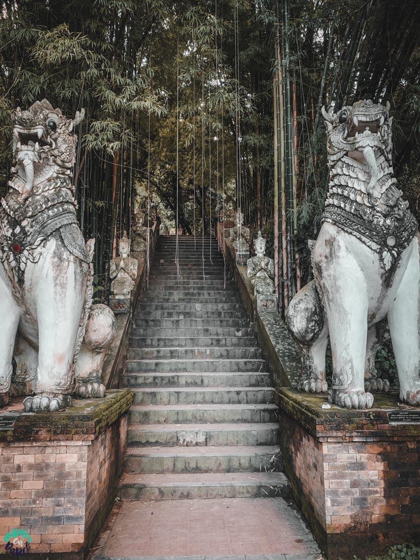 Demonios del Wat Pha Lat. Chiang Mai