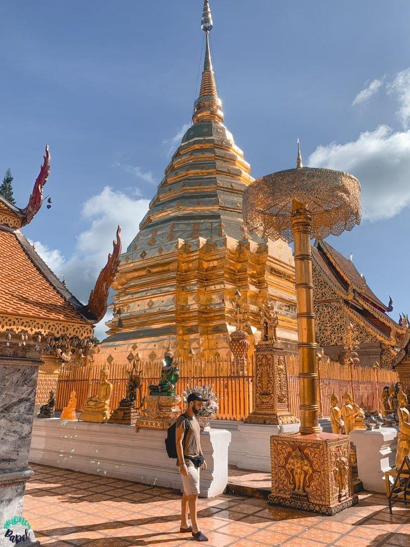 Wat Phra That Doi Suthep. Qué ver y hacer en Chiang Mai 3 días