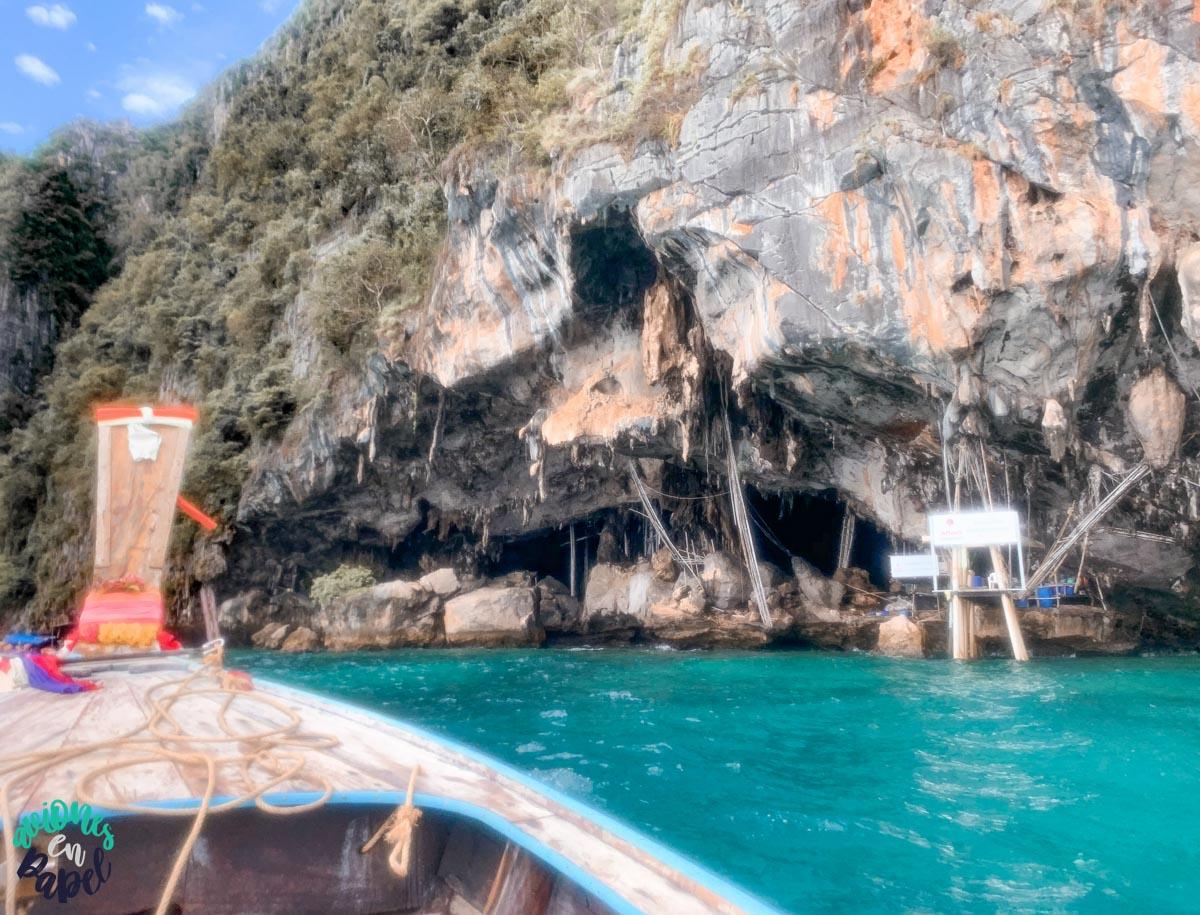 Viking cave - Qué ver y hacer en las Islas Phi Phi en 3 días