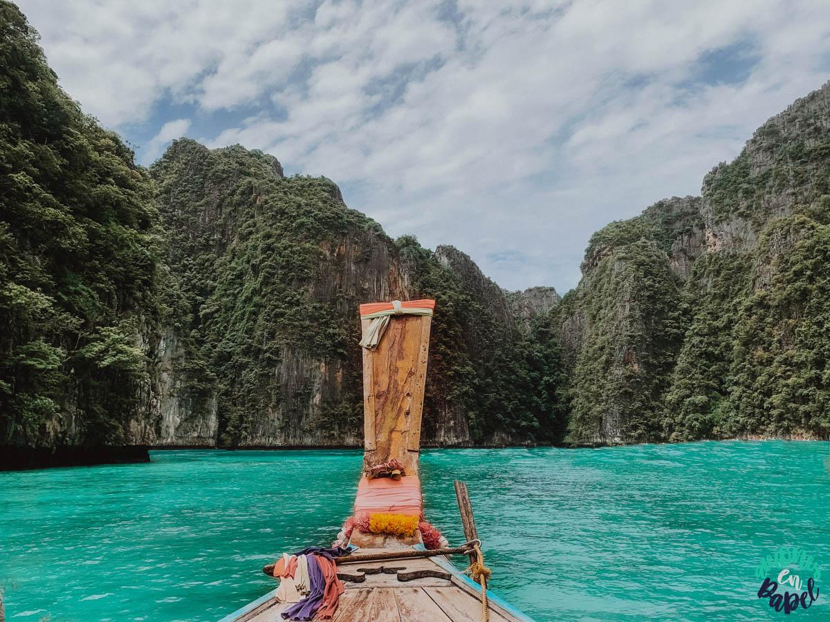 Qué ver y hacer en las Islas Phi Phi en 3 días: Pileh Lagoon