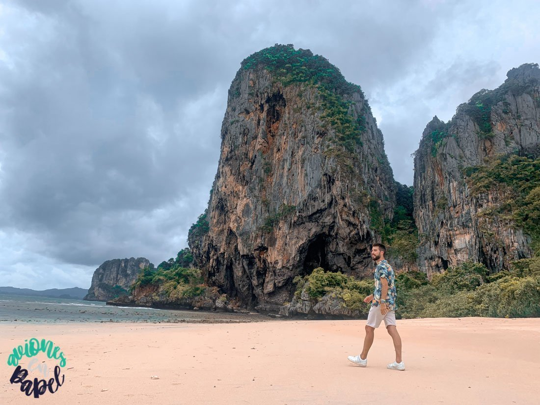 Qué ver y hacer en Railay en 2 días - Phra Nang Beach