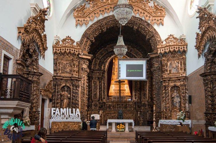 Interior de la Iglesia de Nossa Senhora da Apresentação